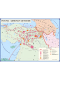 1915-1922 Armenian Genocide Map (in English)
